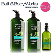 Bath & Body Works Aromatherapy Gift Set Eucalyptus Spearmint Bonus Size Body Lotion, Limited Edition Lot of 2 plus Pillow Mist