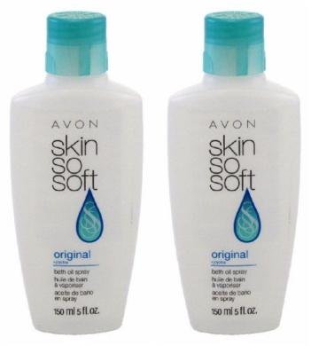 Avon Skin So Soft Original Bath Oil 150ml Bottle - No Pump Included - Set Of 2