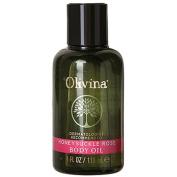 Olivina Moisturising Body Oil, Honeysuckle Rose, 120ml