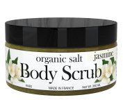 All Natural Organic Body Scrubs, Exfoliating Sea Salt with Pure Ingredients, Best Spa Essential Oils Mixed in With Jojoba & Almond Oil