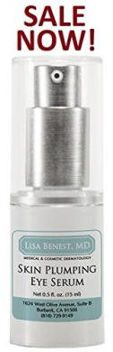 Dr Lisa Benest Skin Care Skin Plumping Eye Serum 0.5 Fluid Ounces 15 ml