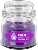 Calm Calming Blend (Chamomile & Lavender) Aromatherapy Candle. 130ml Apothecary Jar - Zi