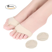 Dr. Kong 3 Pairs Premium Ball of Foot Metatarsal Pads Pain Relief for Forefoot Morton's Neuroma Pads