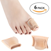 Dr. Kong Hallux Valgus Fibre Separator Toe Corrector with Gel Pad Bone Orthosis for Big Toe Bunion Pain Relief Corn Toe Cover Toe Straightener