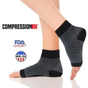 Plantar Fasciitis Foot Sleeve - Heel, Arch, Ankle Compression Sock - Superior Quality and Comfort for Optimal Support