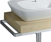 Keramag Silk 516045 Towel Rail Chrome 516045000 43 Cm