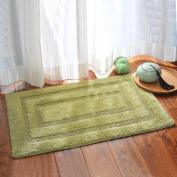 Cotton water-absorbing mats door mats anti-slip mats bathroom Bathroom mat -4060cm B