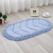 Cotton mats hallway mat kitchen mat water-absorbing mats oval -4570cm c