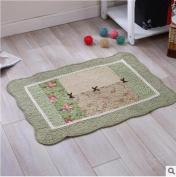 Cotton mats anti-skid living room floor mats bathroom mats -5070cm a