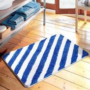 American simplicity stripe floor mats door mats door mats carpets bedroom/kitchen/toilet water-absorbing mat -4565cm a
