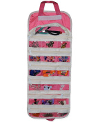 EASYVIEW Arts Crafts and Sewing Organiser - Portable Hanging Storage Case