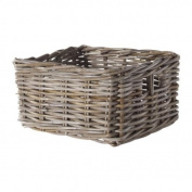 Ikea Basket, grey, 2-pieces 9 3/4x 11 1.3cm x 15cm 226.17292.410