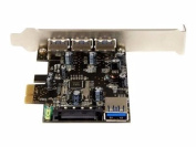 4PT PCIE USB3 CARD 3 EXT & 1 INT