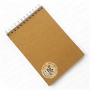 Hanbury & York - Buffy Books - A5 Sketchbook - 100% Recycled Paper and Board - Made in England