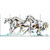 Digital Art PT2425-401 Wild Horses Large Animal Wall Art