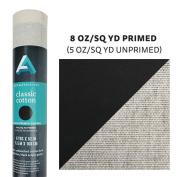 Art Alternatives - Black Canvas Roll - 160cm x 6 yd. Roll