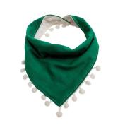 Skaw Doly Baby Tassel Triangle Saliva Towel Infant Kids Girls Boy Bandana Bibs Head Scarf