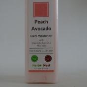 Peach Avocado Daily Day and Night Face Moisturiser. An ultra rich face & skin moisturiser for normal & dry skin - 210ml