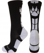 MadSportsStuff Wild Paws Athletic Crew Socks