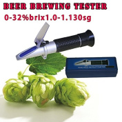 Sinotech Beer Brewing Refractometer with Brix Sg Scales