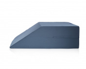 Leg Wedge - Premium Therapeutic Grade Wedge Pillow for Legs by Sleep Jockey - Elevate Legs Support