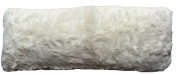 Luxurious Faux Fur Body Pillow Cover with Long Hair, Removable with Sturdy Zipper Closure, Ultra Soft, Fit up To 20 X 54 Body Pillow (Multiple Colours Available)