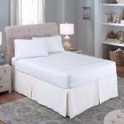 Perfect Fit Luxury Loft 4 Sided Mattress Pad, Twin