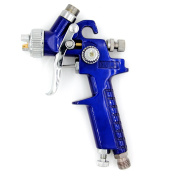 SYWHZ G308 0.8mm Nozzle Gravity Feed Mini Spray Gun for Pattern of Automotive Wooden Furniture Poster Board