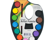 Watercolour Paint Artist Palette With Mixing Tray - Pack of 72