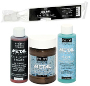 Modern Masters Metal Effects Bronze Paint and Blue Patina Kit 120ml