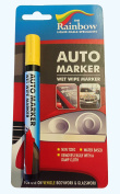 AUTO WRITER Marker Removable Paint For Auto Body Panels And Windscreens 5Mm Yellow
