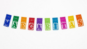 "Mexican TISSUE Papel Picado for MARGARITA BAR - ""MARGARITAS"" - Designs & Colours as Pictured By Paper Full of Wishes"