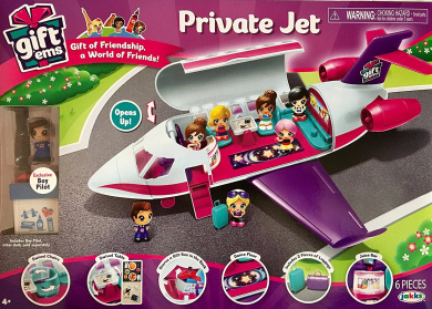Gift'ems Private Jet by Gift'ems - Shop Online for Toys in Australia