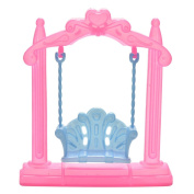 1 Pcs Swing For Dolls Swing Plastic Doll Accessories Kid Toy Doll's Backyard Furniture By Team-Management