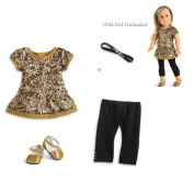 American Girl Truly Me Golden Sparkle Outfit for 46cm Dolls