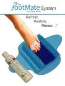 Footmate System Foot Scrubber w/ Rejuvenating Gel