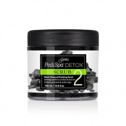 Gena Pedi Spa Detox Black Charcoal Purifying Scrub - Step 2 - 460ml