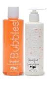 Primal Elements Bubble Bath and Lotion 240ml - Grapefruit