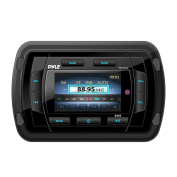 Pyle PATVR14 Marine Bluetooth Audio/Video Receiver - Water Resistant A/V Stereo Headunit, Colour LCD Display, USB Reader