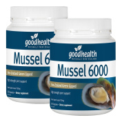 Goodhealth Mussel 6000mg 300 Capsules New Zealand Green Lipped Mussel High strength joint support