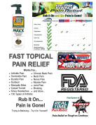 Real Time Pain Relief MAXX 350ml Pump Bottle