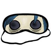 noodle gorillaz EYM1889 Eye Printed Travel Eye Mask Sleeping