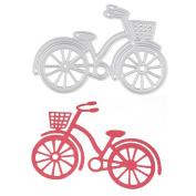 Hestio Metal Bike Bicycle Cutting Dies Stencil For DIY Scrapbook