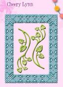 Cheery Lynn Designs Voctoria Garden Doily Die FRM128