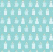 Bundle of Joy Baby Boy Bottles Papers - 5 Sheets