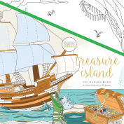 KaiserCraft Kaisercolour Perfect Bound Colouring Book 25cm x 25cm -Treasure Island