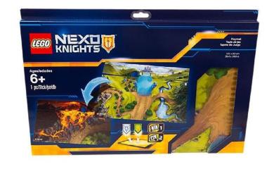 Lego Nexo Knights Playmat 853519 100cm x 60cm 2-sided