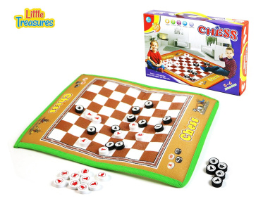 A game of skill and strategy, this giant Chess board game is an ideal set for beginners- preferable for kids of age 3+