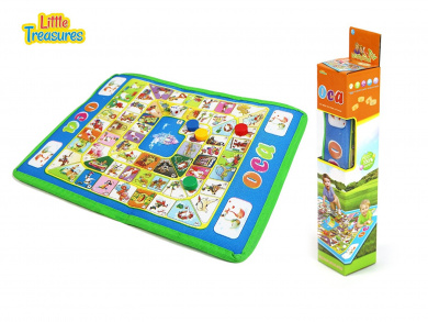 OCA board game set - a . version of game of goose for preschoolers; the old, traditional Italian large board game