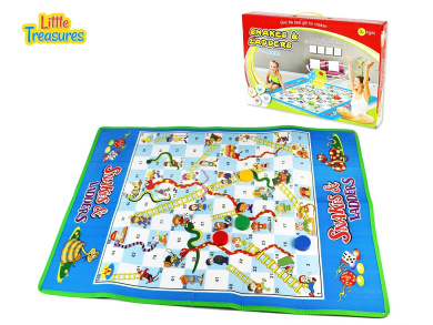 Snakes and Ladders Large Activity Mat Board Game - famous among kids of age 3+